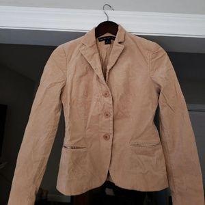 Corduroy blazer